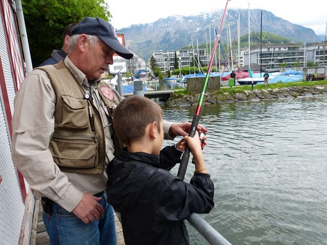 Seefischer Nidwalden Praxiskurs Samstag, 4. Mai 2013